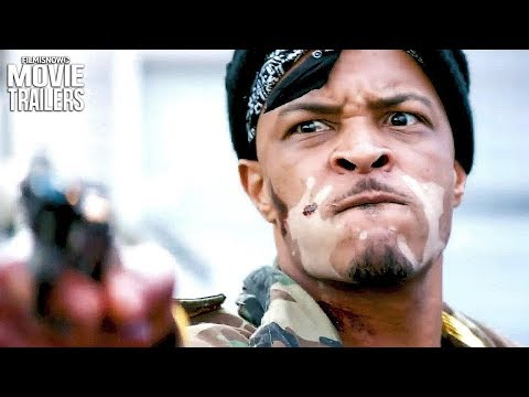 CUT THROAT CITY Teaser Trailer NEW (2019) - RZA Action Heist