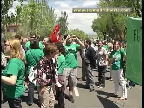 Más De Doscientas Personas Frente A La DAT Madrid Norte Contra Los Recortes Educativos