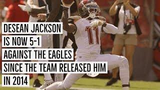 Brief History of Desean Jackson Burning the Eagles - Sweet Revenge
