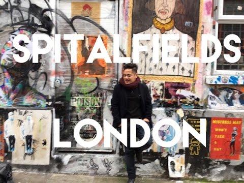 DISCOVERING LONDON   SPITALFIELDS MARKET   |   VLOG#23