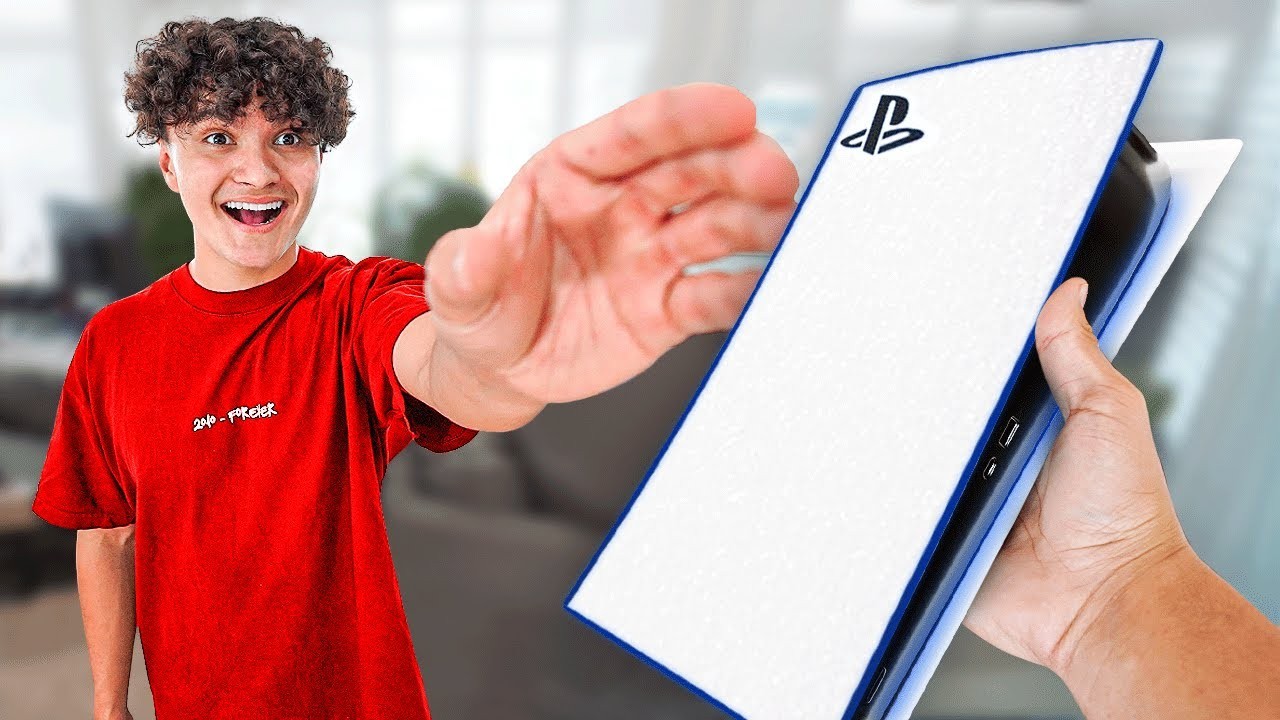 Surprising Little Brother With PS5 (Unreleased)