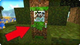 Я нашёл тайный проход на этом болоте в майнкрафт! 100% Троллинг Ловушка Minecraft Секретный Проход