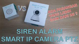 Bardi Smart IP Camera PTZ Vs.Siren Alarm - Pasangan Anti Kejahatan Masa Kini