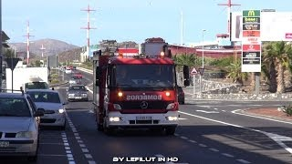 FIRE DEPARTMENT [BOMBEROS TENERIFE] Pressluft-Autobomba 14 Parque San Miguel