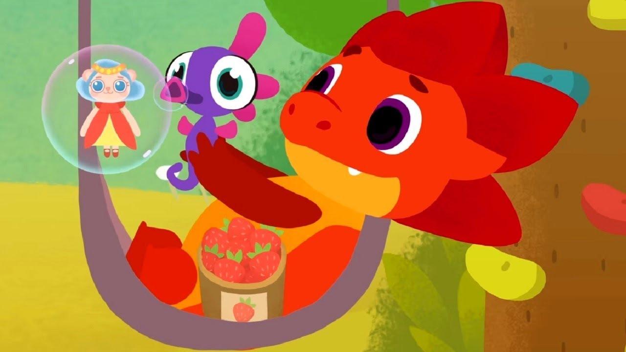 Дракоша Тоша - все серии сразу сборник 31- 35 - развивающий мультфильм для детей