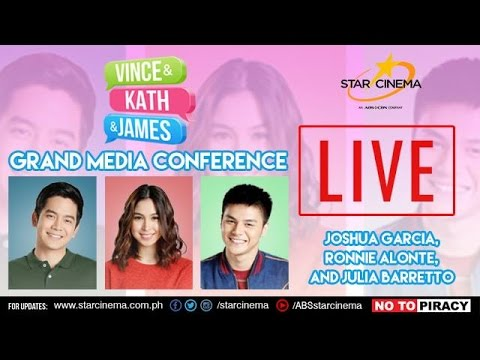 'Vince and Kath and James' Grand Media Conference