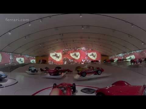 Enzo Ferrari in the time machine