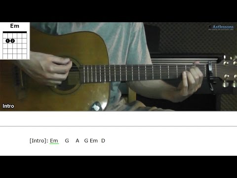 How to play Good For You with Selena Gomez (Guitar lesson)