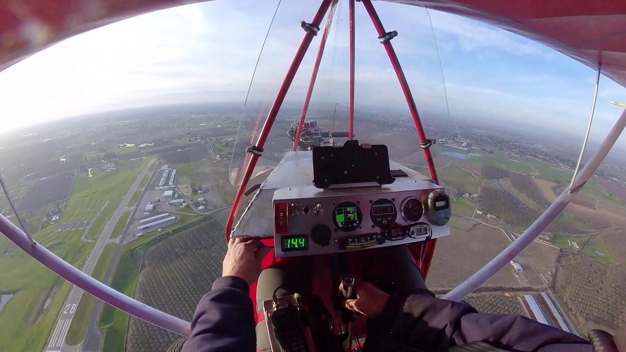 ORV and Verner 3V test flight Mikuni Carb