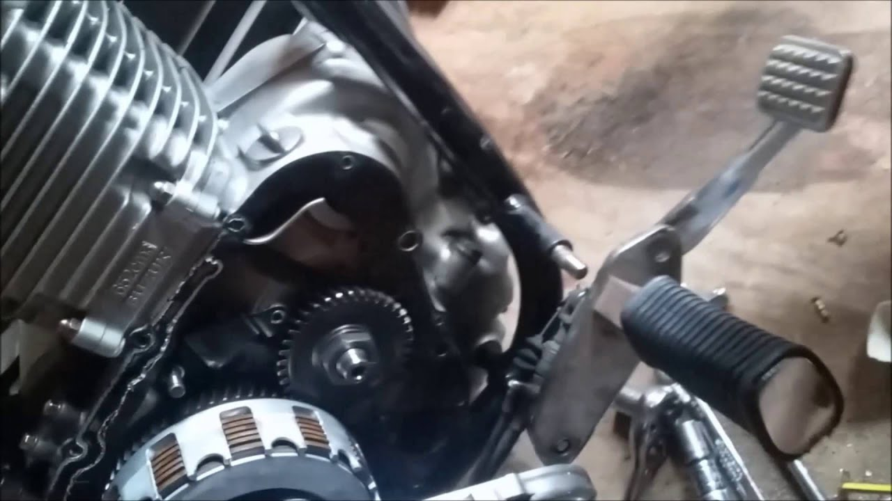 Timing Chain Replacement >> Suzuki Savage Cam Chain Adjuster replacement - YouTube