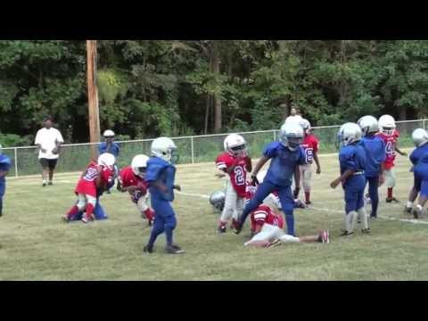 "6 YEAR OLD RUNNINGBACK/DEFENSIVE END #3 ""ManMan"" DEE"