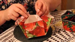 Как сделать бумажную корзину своими руками
