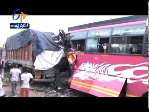 Seven Died In Various Road Accidents In Andhra Pradesh