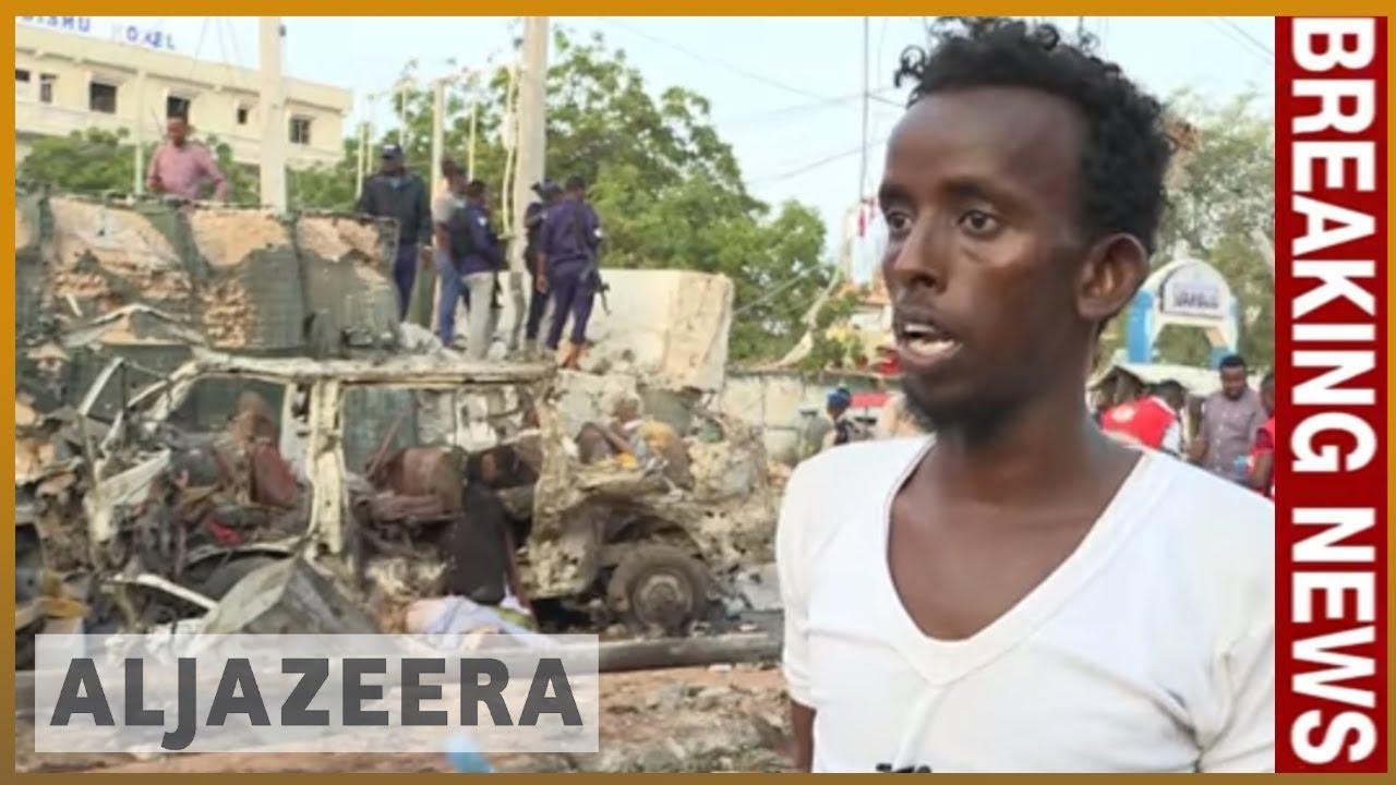 ?? Somalia: At least 20 killed in Mogadishu explosions, gunfire | Al Jazeera English