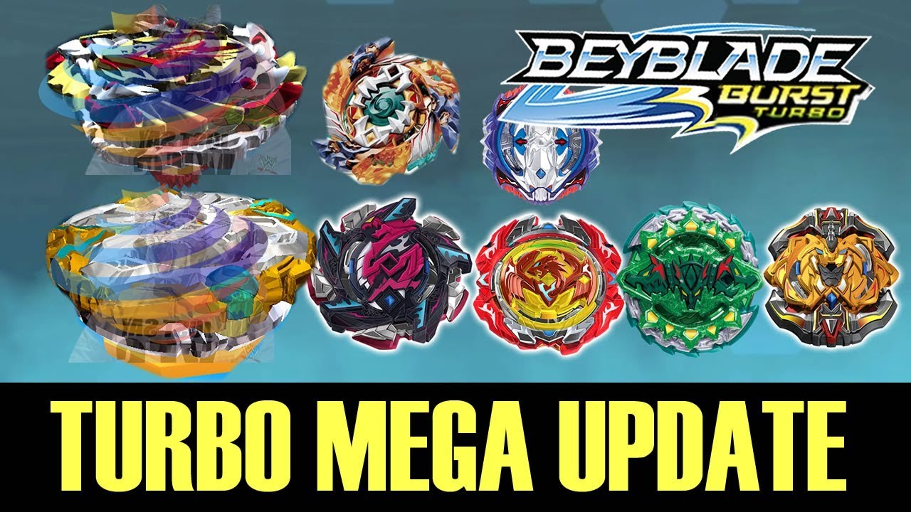 Beyblade Burst Turbo Mega Update Orichalcum Amaterios More