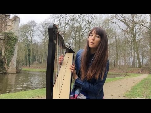 Harp Music - Improvisation on Anne de Bretagne (traditional French Folk Tune)played on Camac Bardic