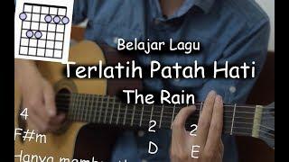 Gambar cover Belajar Gitar (Terlatih Patah Hati - The Rain)