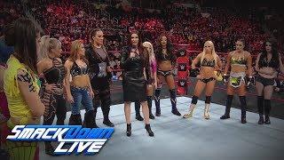Relive the historic Women's Royal Rumble Match announcement: SmackDown LIVE, Dec. 19, 2017