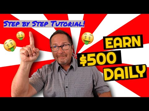 How To Earn $500 A DAY Online (Make Money Online For Beginners)