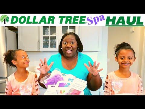 DOLLAR TREE HAUL!!!!-Spa