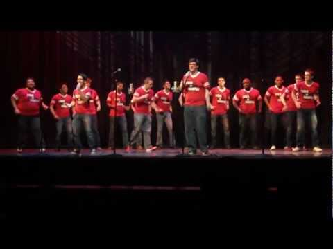 Men of Moore's - Rolling in the Deep & Stronger (Adele & Britney Spears) - Acappellooza 2012