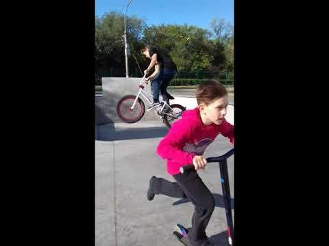 Скейт-парк города Невинномысск! И популярный райдер! Jarom Oliveira #1