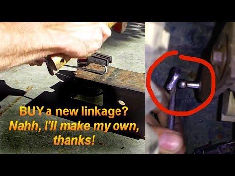 """DIY"" Transfer Case Linkage Replacement GMC Pickup"