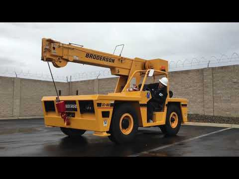 Broderson IC-80 8.5 Ton Industrial Carry Deck Crane