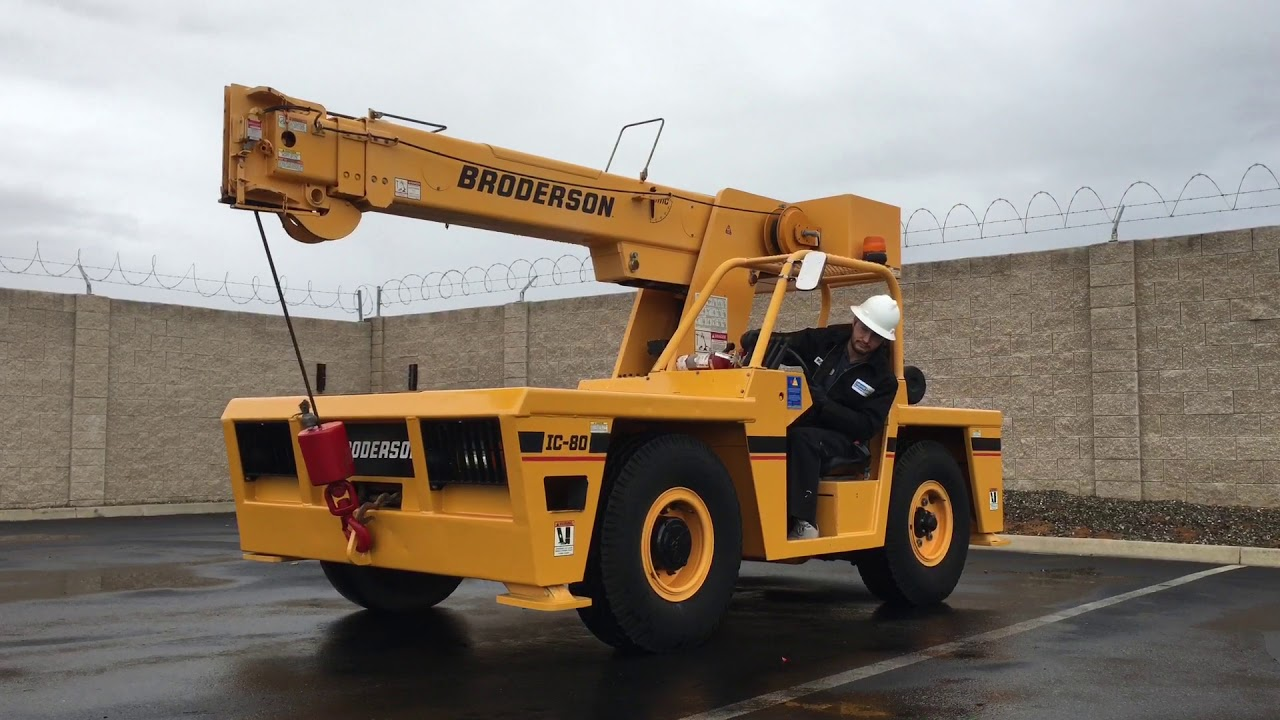Broderson IC-80 8 5 Ton Industrial Carry Deck Crane