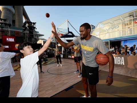 Golden State Warriors Host Special Olympics Clinic in Shanghai