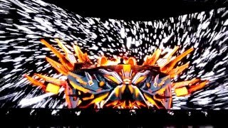 excision the paradox tour stage ae pittsburgh 03032016 opening front row