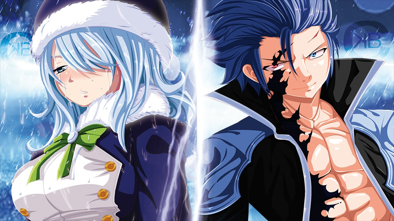 x juvia Fairy tail gray