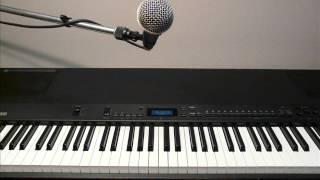 この曲は、ピッチ(音程)を合わせるのがとても難しい曲で、何回もやり...