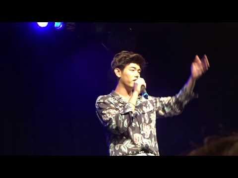 Eric Nam 1st Live NYC concert 2017 - Idea Of you + Talk + Like you (never heard b4)