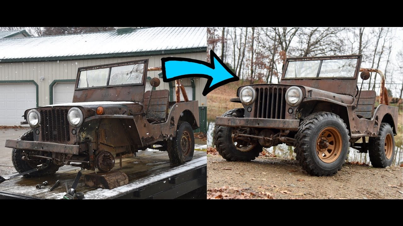 Reviving a dead Willys Jeep CJ2A