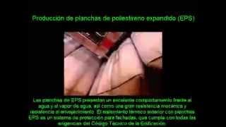 Producción de poliestireno expandido (EPS).
