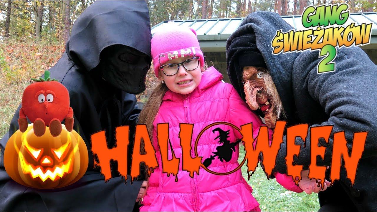 HALLOWEEN – WIEDŹMA I MORGUL PORYWAJĄ ŚWIEŻAKI – Gang Świeżaków 2 Bajki dla dzieci po polsku
