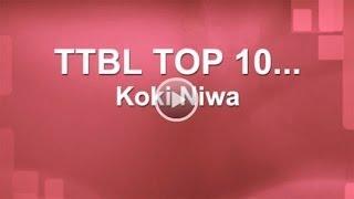 TTBL-TV: TTBL TOP10... mit Koki Niwa
