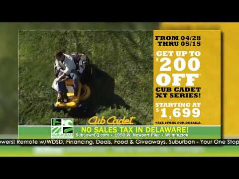2019 Cub Cadet Dealer Days At Suburban Lawn & Equipment