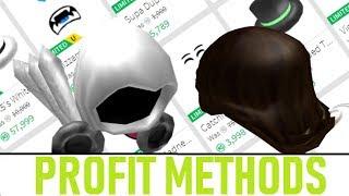 Roblox Profit Methods In Trading!