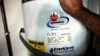 Water Heater Seismic Strapping Loose.avi