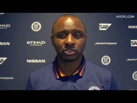 NYCFC vs HB Køge: Patrick Vieira Post-Match Interview