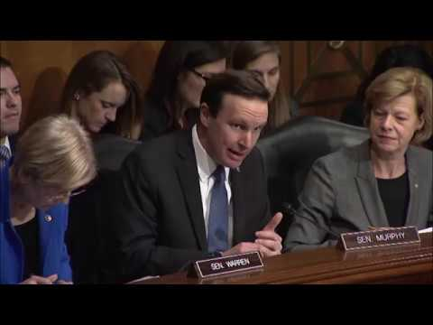 Senator Chris Murphy Questions HHS Nominee Rep. Tom Price