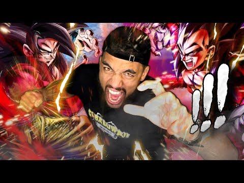 MOST HYPE Super Saiyan 4 Goku AND Vegeta SUMMONS! Dragon Ball Legends