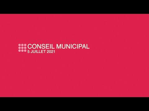 Ville de Nanterre - Conseil municipal du 5 juillet 2021