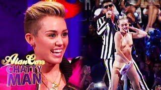 Repeat youtube video Miley Cyrus Talks Twerking At VMA - Alan Carr Chatty Man