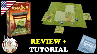 Download Video How to play Brains Japanes Garden, Review & Tutorial (ENGLISH) Board Game -Games On Board- MP3 3GP MP4