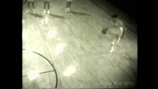 Vintage George Mikan warm up Dunk for Minneapolis Lakers