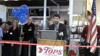 Tops Friendly Markets Holds Grand Re-Openings for stores in Cortland and Auburn, N.Y.
