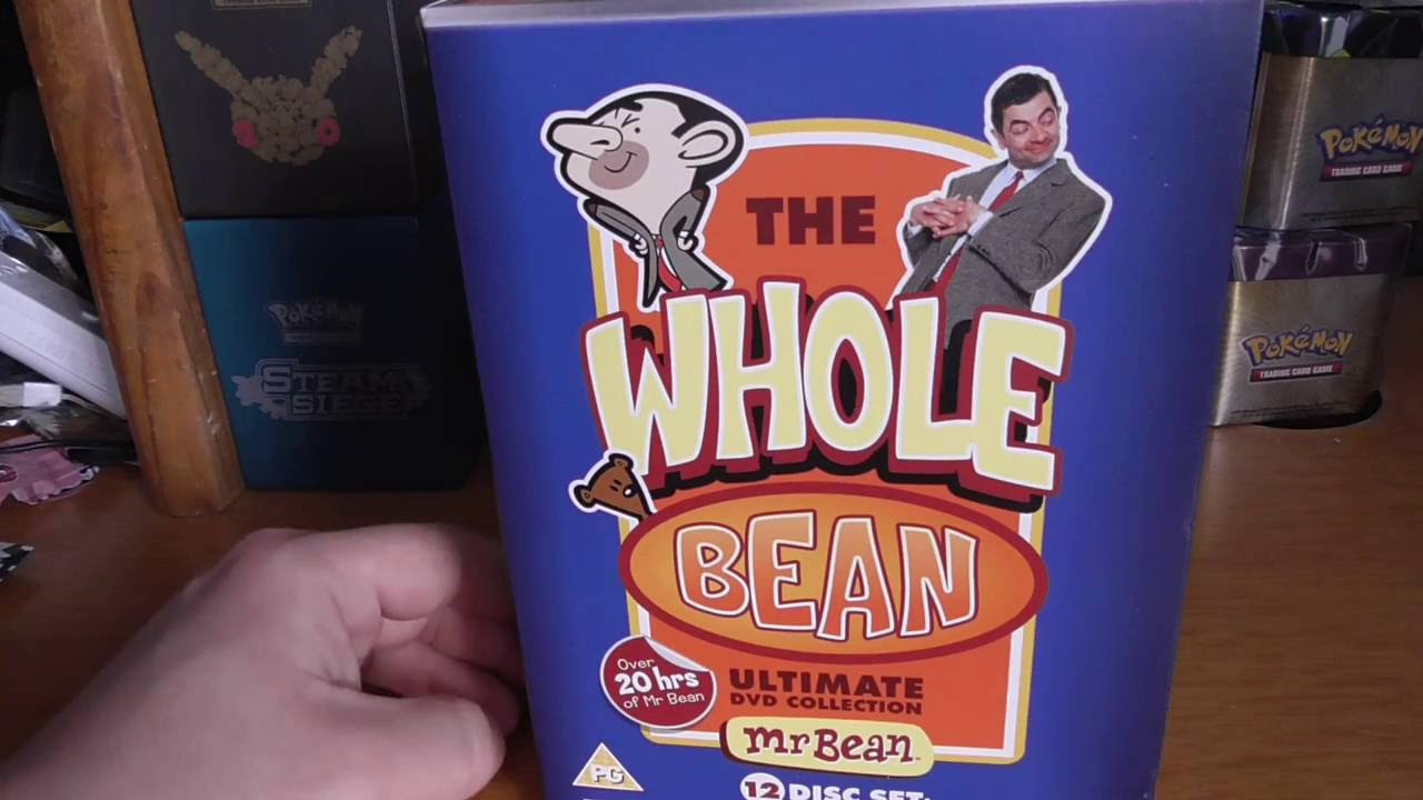 Mr Bean The Whole Bean Ultimate Dvd Collection Youtube